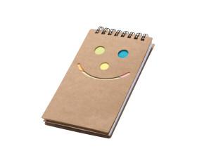 Notizbuch Smile Gesicht