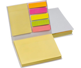 Haftnotizblätter im Hardcover